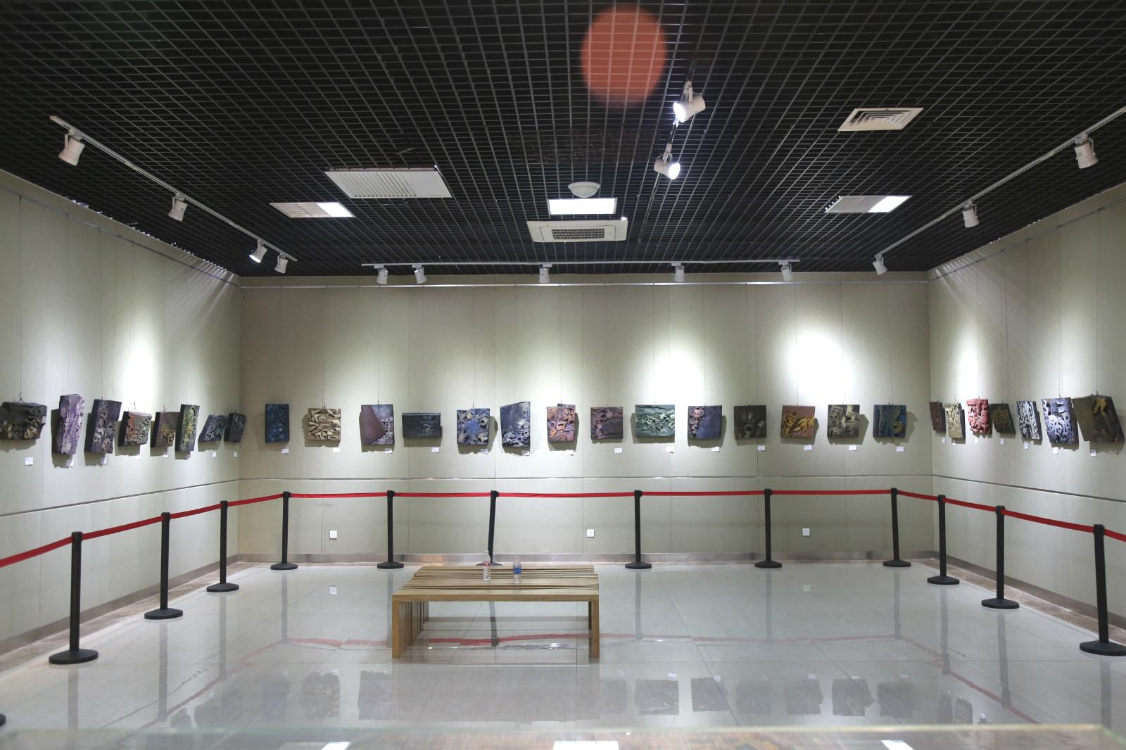 汉字之美的正确打开方式!山东省第三届现代刻字艺术展开幕