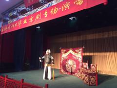 53岁的硕士毕业生,王德成毕业京剧专场演唱会举行