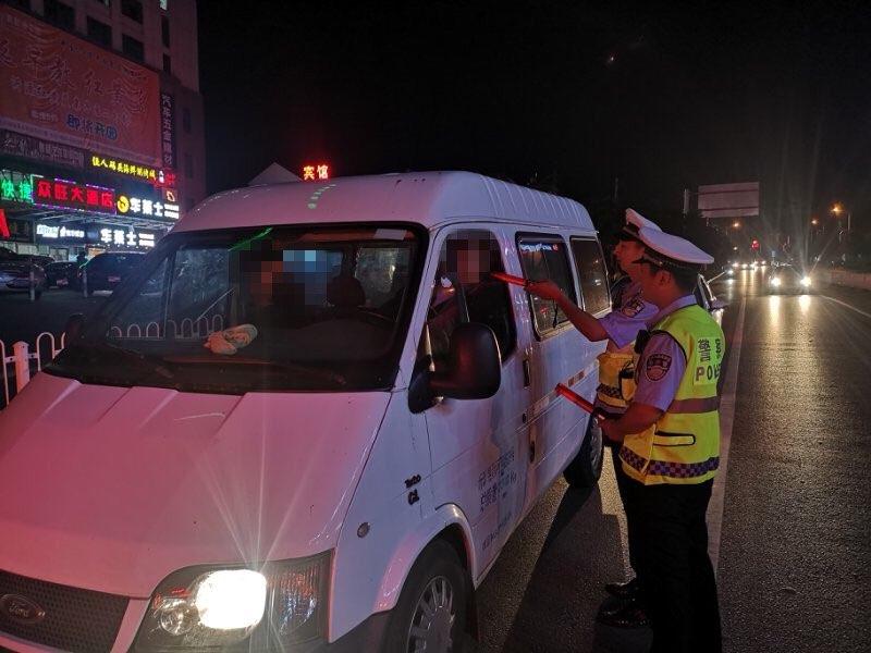 淄博公安交警开展专项统一行动 查处酒驾醉驾57起