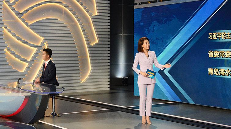 主播黄凯、徐单亮相《山东新闻联播》 幕后花絮曝光