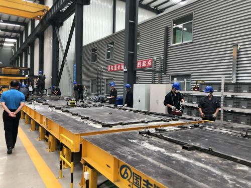 新旧动能转换看落实丨日照国丰远大生产预制装配式混凝土构件能力达35万立方米