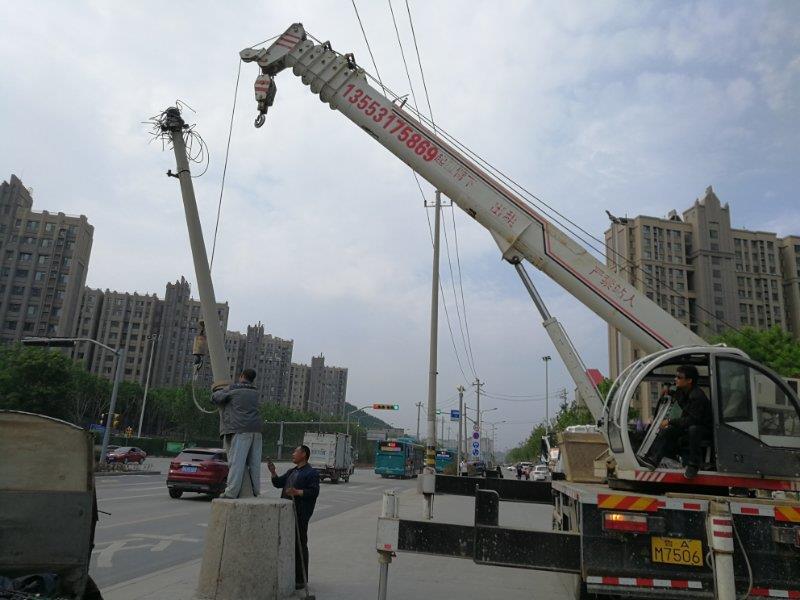 给力!济南今年剪除线缆相当于绕城高速15圈