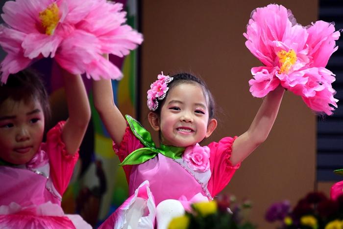 茌平:幼儿园举办文艺汇演 喜迎六一儿童节(组图)