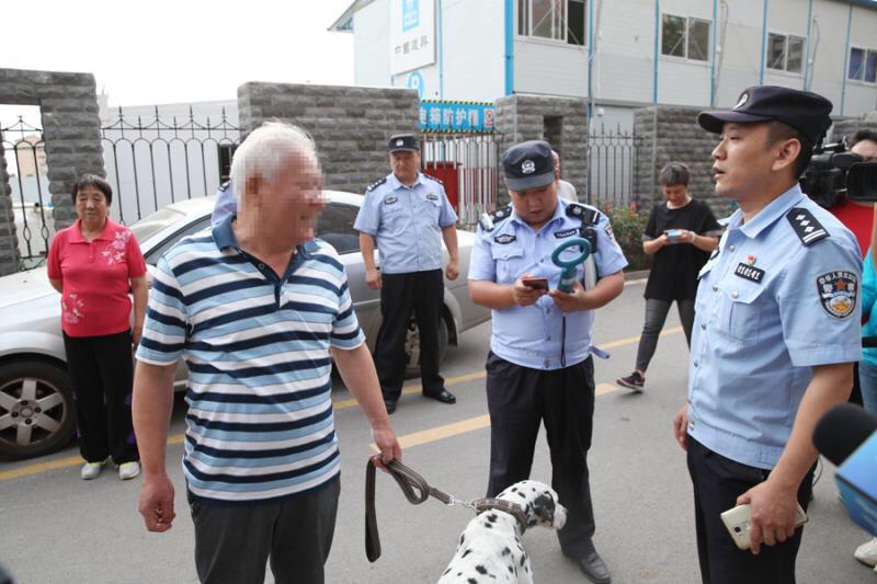 文明养犬从我做起 济南天桥开展集中整治违法养犬专项行动