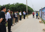 泰山区人大代表视察泰山区国土资源管理工作