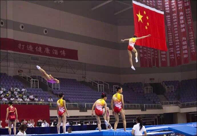 山东省运会蹦床预赛6月4日将在淄博市体育中心综合馆开赛