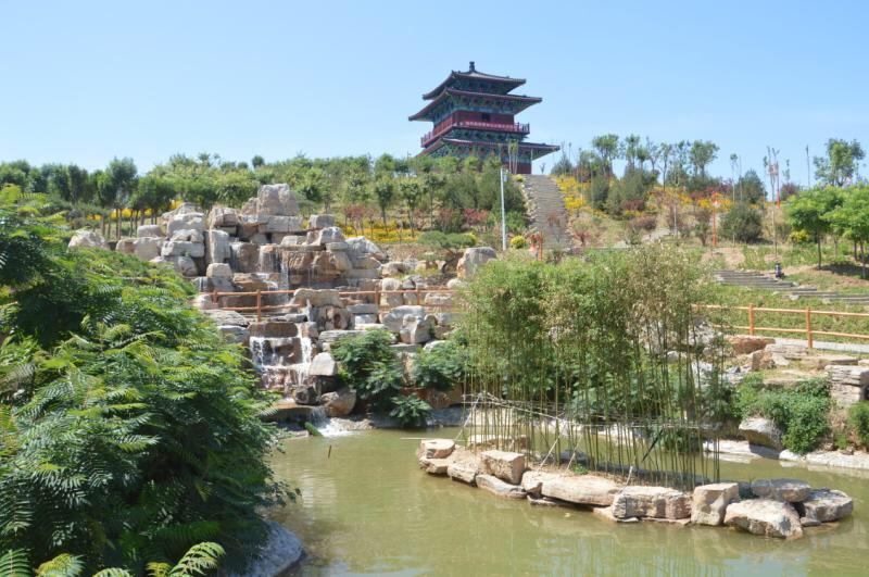 又一项生态工程告捷 淄博高新区青龙山公园全面建成并开园