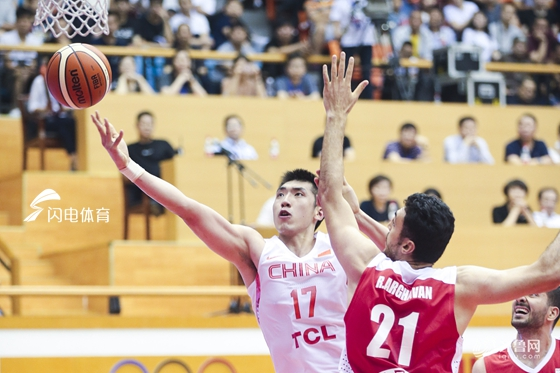 热身赛:陶汉林18分!中国男篮蓝队84-73再胜伊朗 赢取两连胜