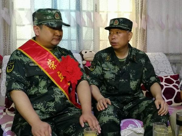 军功喜报送进家!枣庄市消防支队一副营职参谋荣立三等功