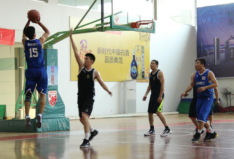2018聊城市LBA男子篮球俱乐部联赛拉开战幕