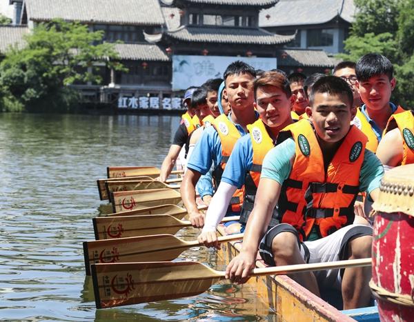 看龙舟争霸!第二届中国大运河国际龙舟赛16日亮相台儿庄
