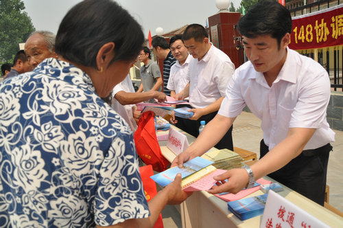 """枣庄薛城246个村居有了""""法律体检中心"""""""