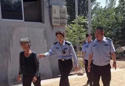 潍坊:人民警察为人民 头顶闪亮警徽守卫千家万户