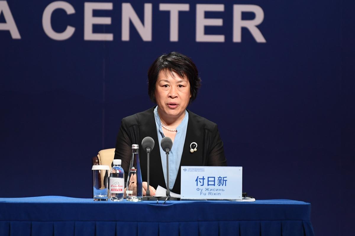 上合峰会专场发布会现场 山东发展受到国内外媒体关注