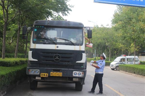 潍坊对危化品车辆开展安全隐患大排查 检查车辆423辆次
