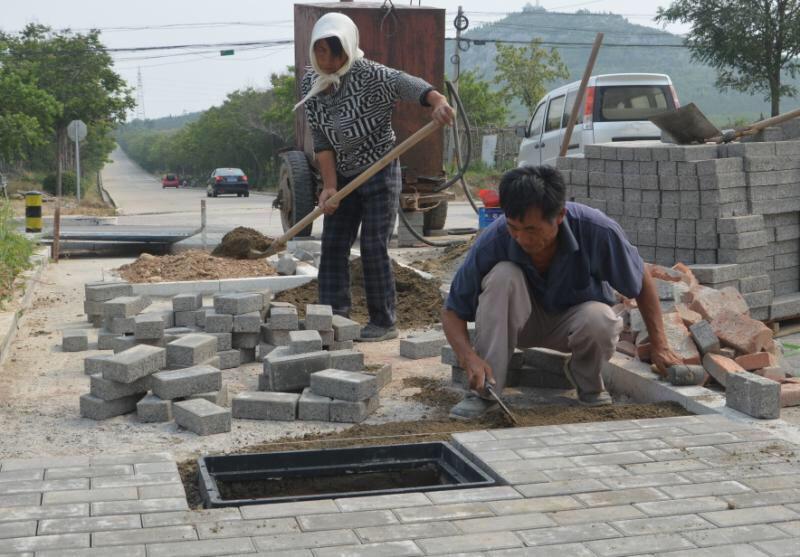 淄博高新区投资550万元整治改造3条背街小巷