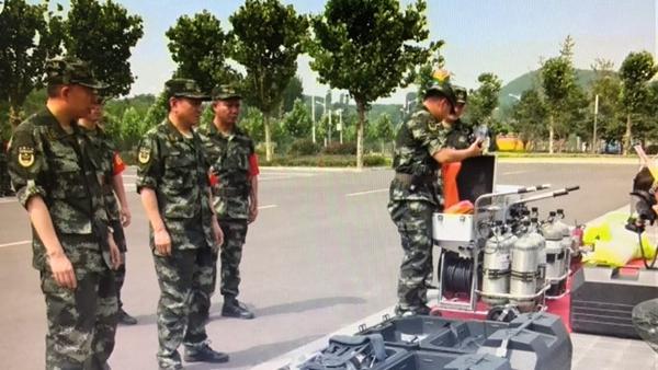 枣庄消防支队开展应急保障拉动演练  十余项内容紧贴实战