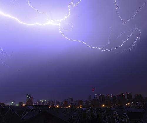 淄博发布雷电黄色预警 局部可能出现短时强降水并伴雷电