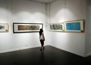 60余幅精品水墨画亮相潍坊 最大尺幅超过11平方米