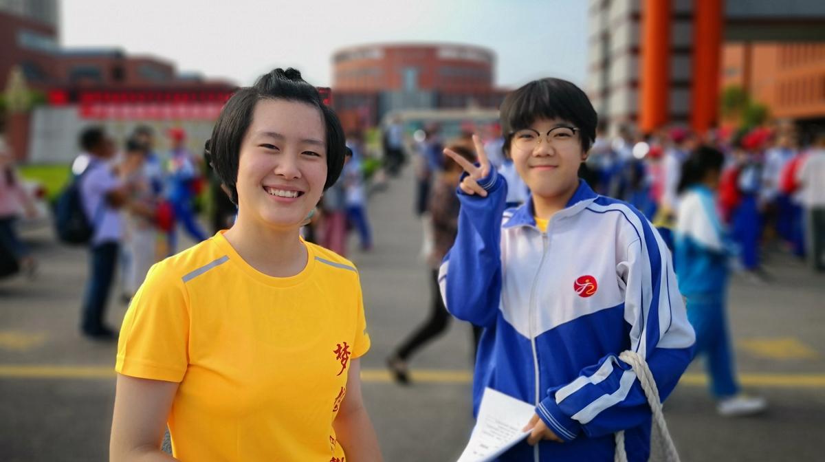 济南中考第一天 5.88万考生自信走出考场