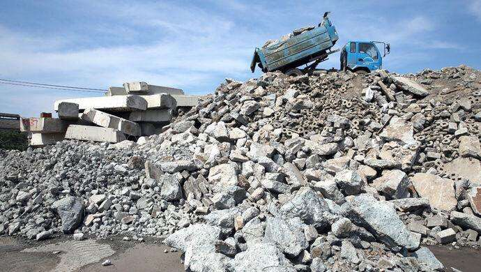 牡丹区建筑垃圾管理暂行办法出台 将严管建筑垃圾处置问题