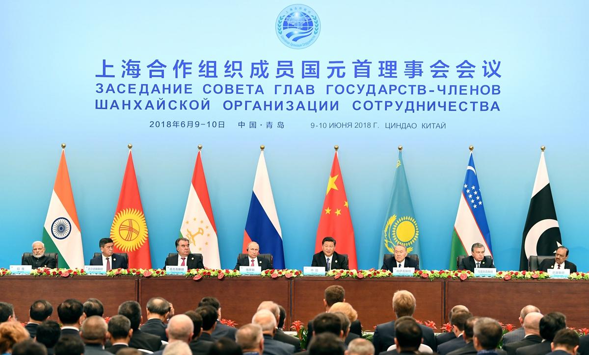 外交部长王毅:上合青岛峰会成果超出预期