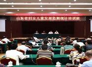 山东省妇女儿童发展监测统计培训班在济南举行