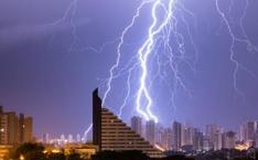 海丽气象吧|淄博发布雷电黄色预警 今夜或出现雷电活动并伴降水