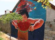 """时尚彩绘画上墙 看看泰安""""艺术范儿""""村庄有多美!"""