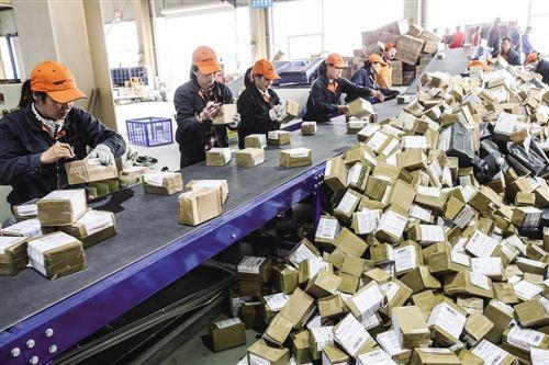 前5个月山东快递企业寄递76000万件 同比增长近5成