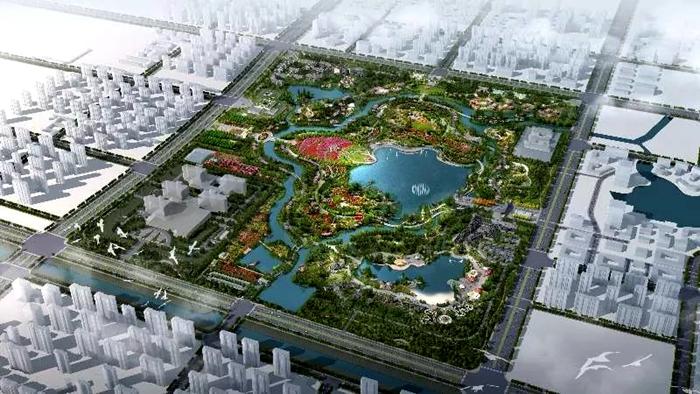 聊城将建鲁西最大月季主题公园 预计今年十月开园