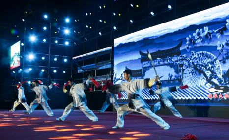 台儿庄古城首届大运河非物质文化遗产优秀项目展演圆满结束