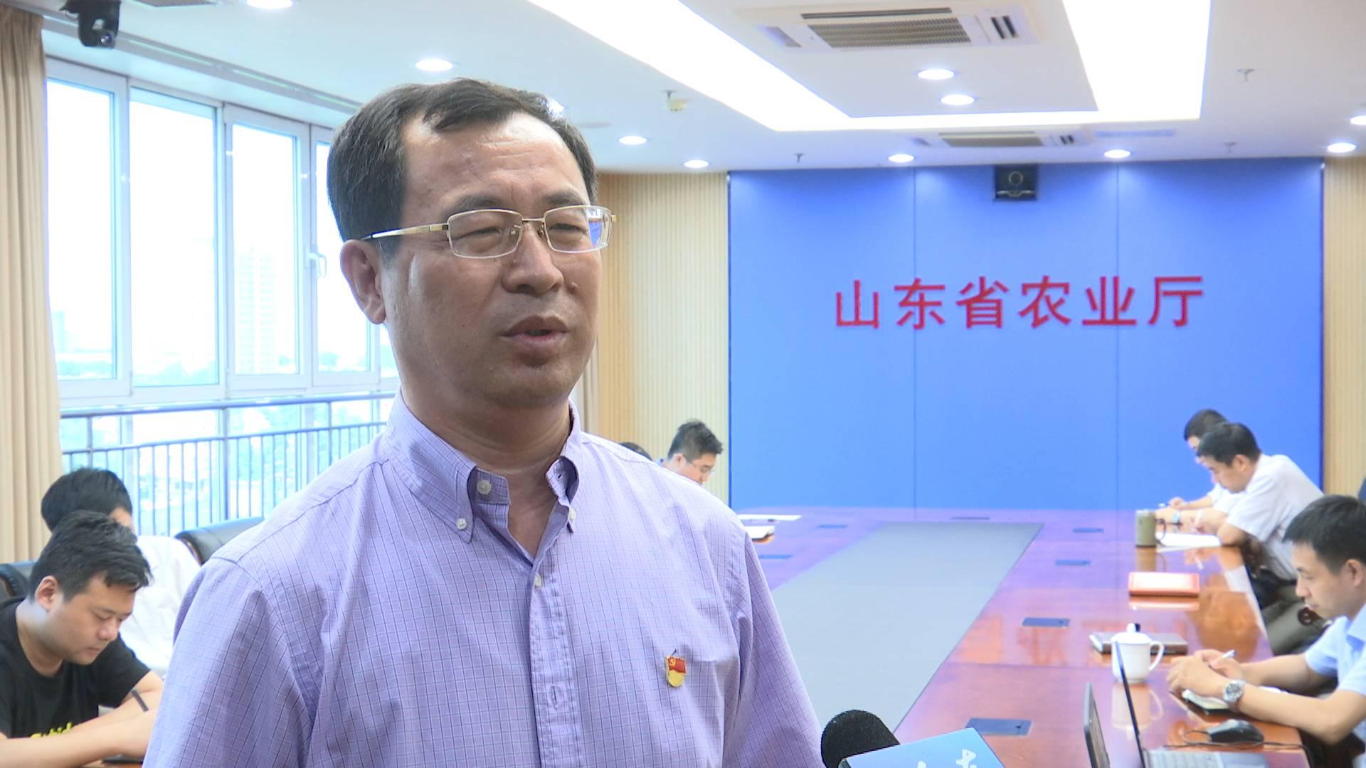 总书记来到我们身边 山东省农业厅副厅长王登启:推动农业高质量发展