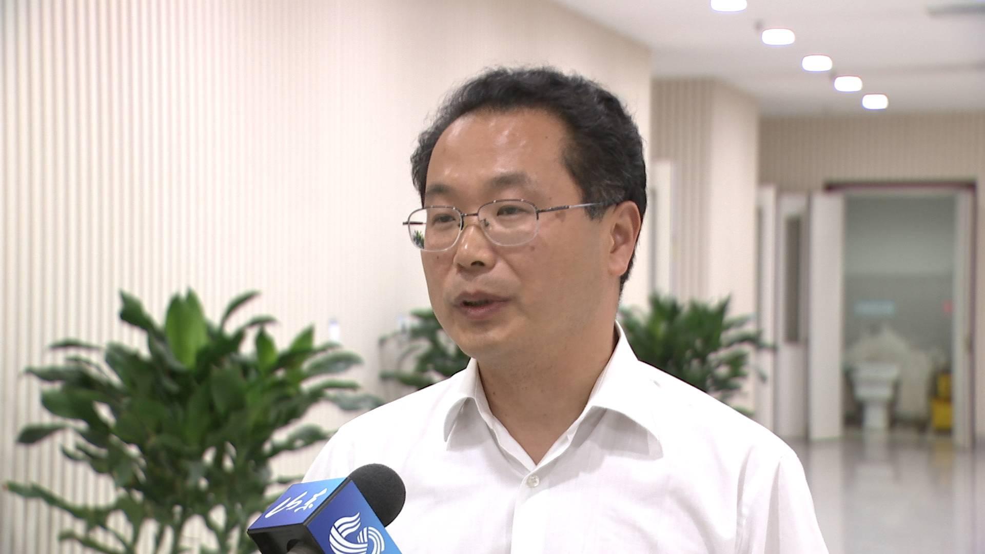 总书记来到我们身边|山东省国资委总会计师王志刚:努力培育全球竞争力的世界一流企业