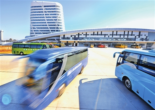 荣成石岛长途汽车站全面升级安检设备