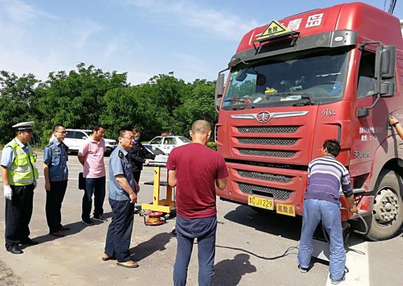 淄博高新区严查重型柴油车污染 控制流动源污染排放