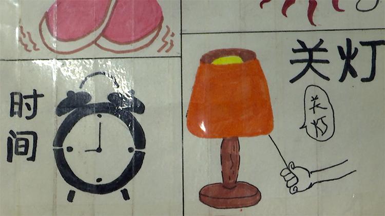 暖新闻丨德州90后男护士手绘漫画卡 方便交流温暖病人