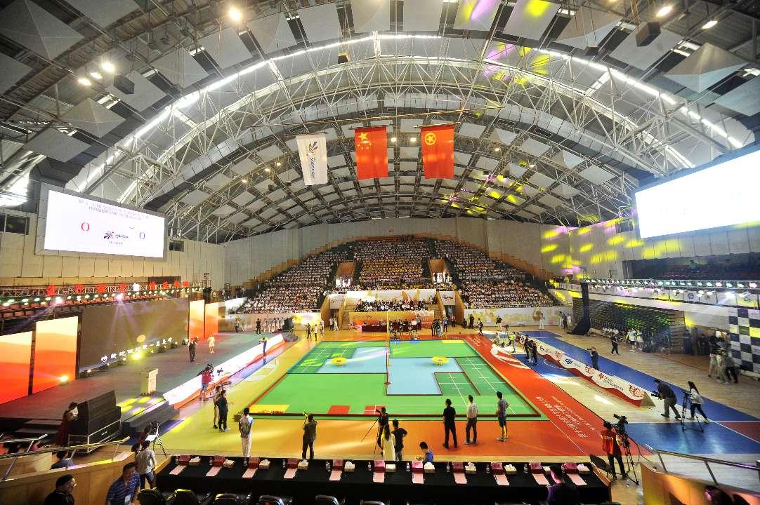 第十七届全国大学生机器人大赛在邹城闭幕 东北大学蝉联冠军