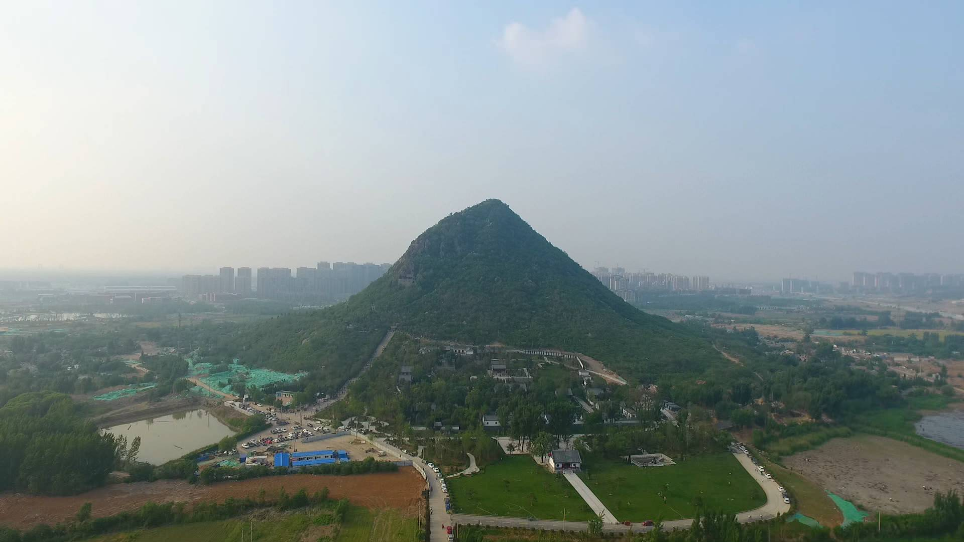 80秒|济南华山湖全面开挖,国庆前有望形成湖面景观