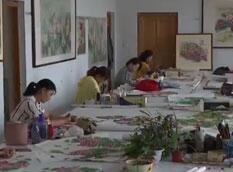 推动乡村振兴 打造齐鲁样板丨农民画家:方寸之间绘制美好生活