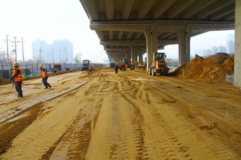 喜讯!淄博高新区西五路桥将于6月底通车