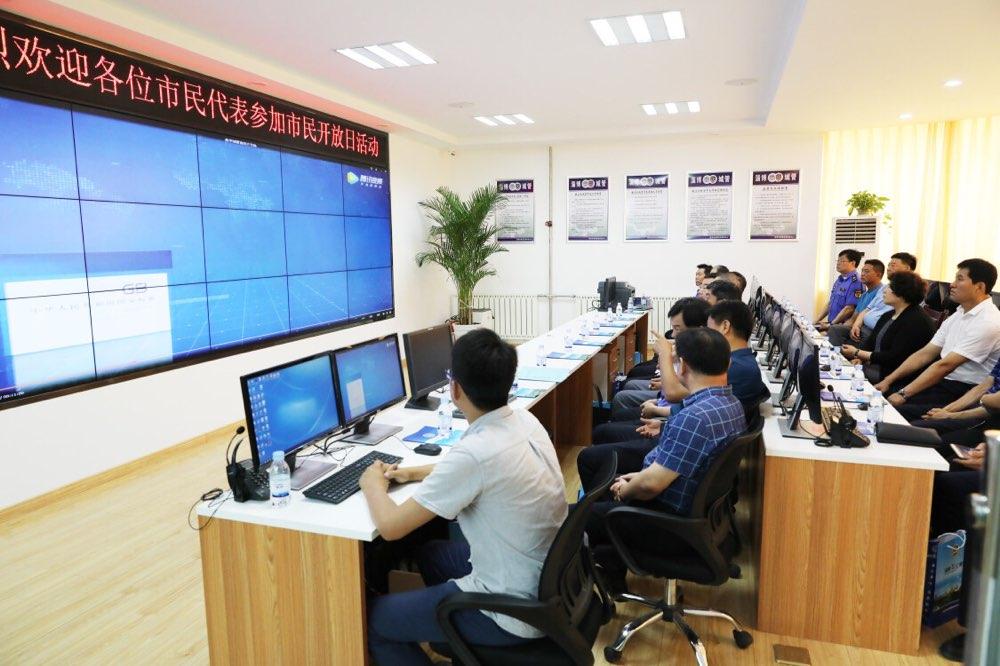 """淄博市城市管理和行政执法局举办""""市民开放日""""活动"""