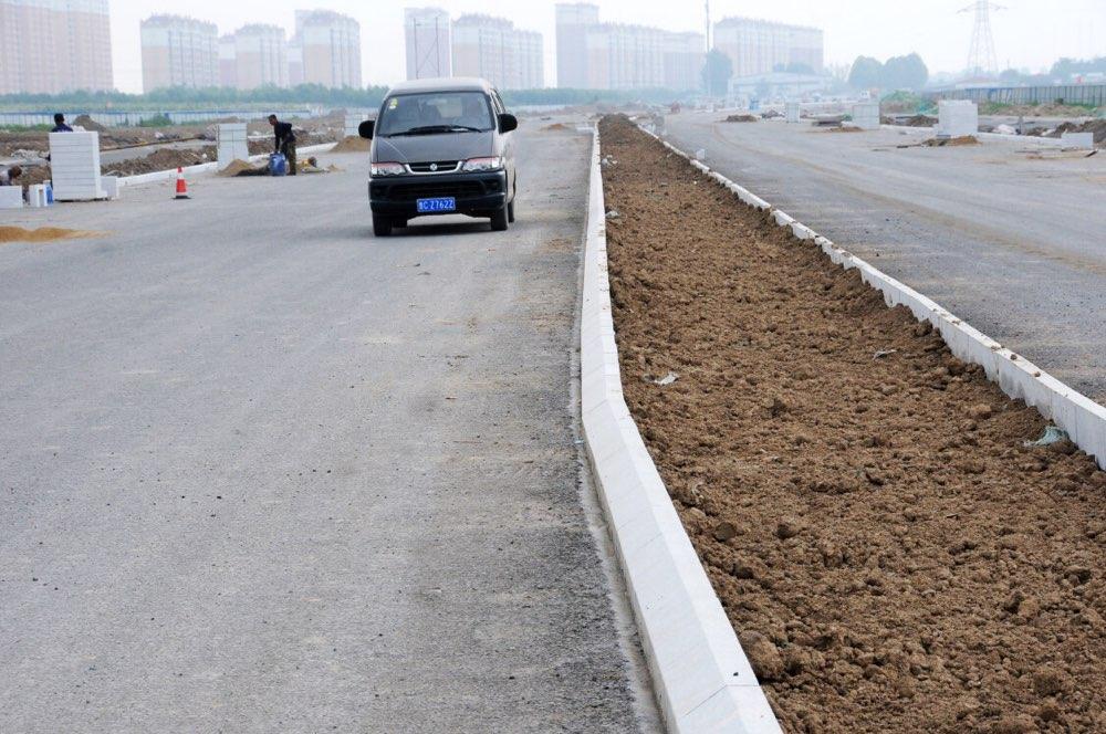"""淄博高铁新城路网""""小循环""""于6月底具备通车条件"""