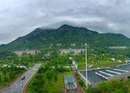 海丽气象吧丨泰安迎强降雨,雨中泰山云雾缭绕美轮美奂