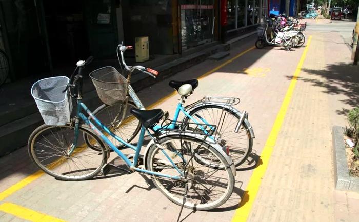 冠县居民注意!城区设置非机动车停放线 乱停乱放将被处罚