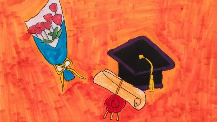 133秒丨德州毕业生创意漫画怀念大学时光 淡淡忧伤却满是不舍