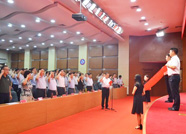 """泰安人社系统为43名共产党员过""""政治生日"""""""