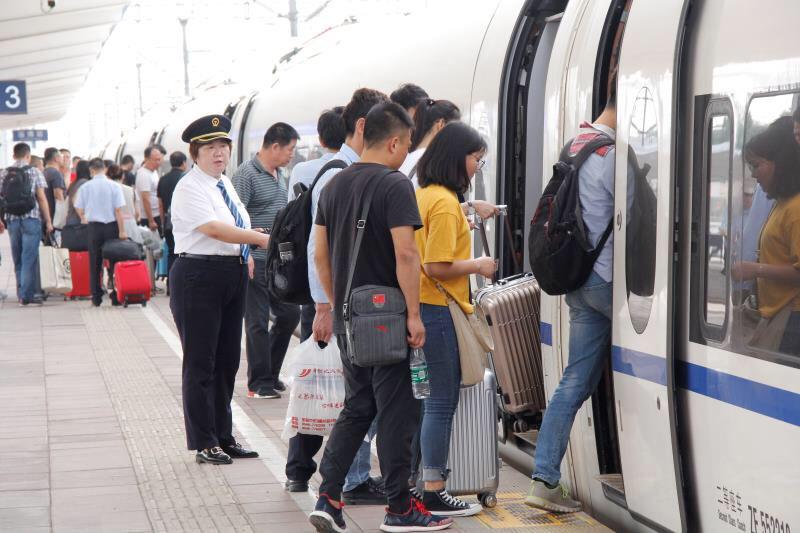暑运来了 淄博火车站预计发送旅客148万人