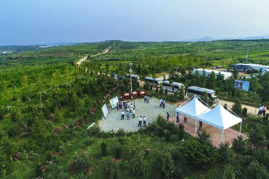 林水会战看日照|东港区改善农村水环境 打造百里生态长廊
