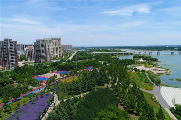 林水会战看日照丨林水相依、河海共治、人与自然和谐共生的海滨城市